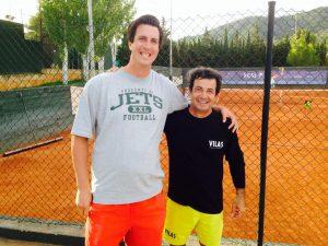 Glenn with Sergio